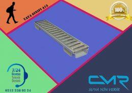 Plastik Kanal Paslanmaz Izgara CMR-PLK015