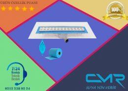 File izoleli duş kanalı CMR-BYS009