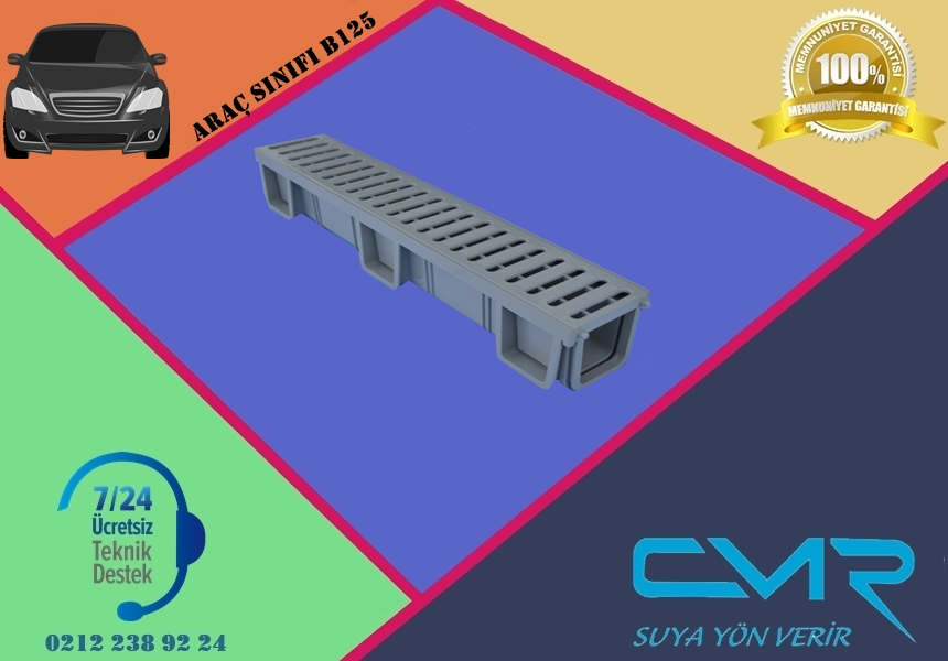 Polikarbon Kanal Polikarbon Izgara CMR-PLK021
