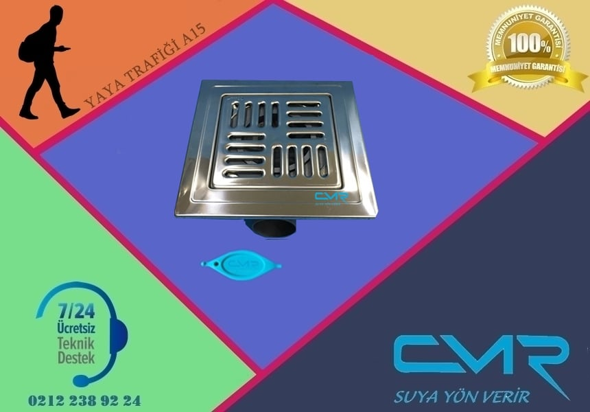 Banyo yer süzgeci CMR-BYS001