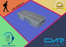 Plastik kanal ızgara CMR-PVC01