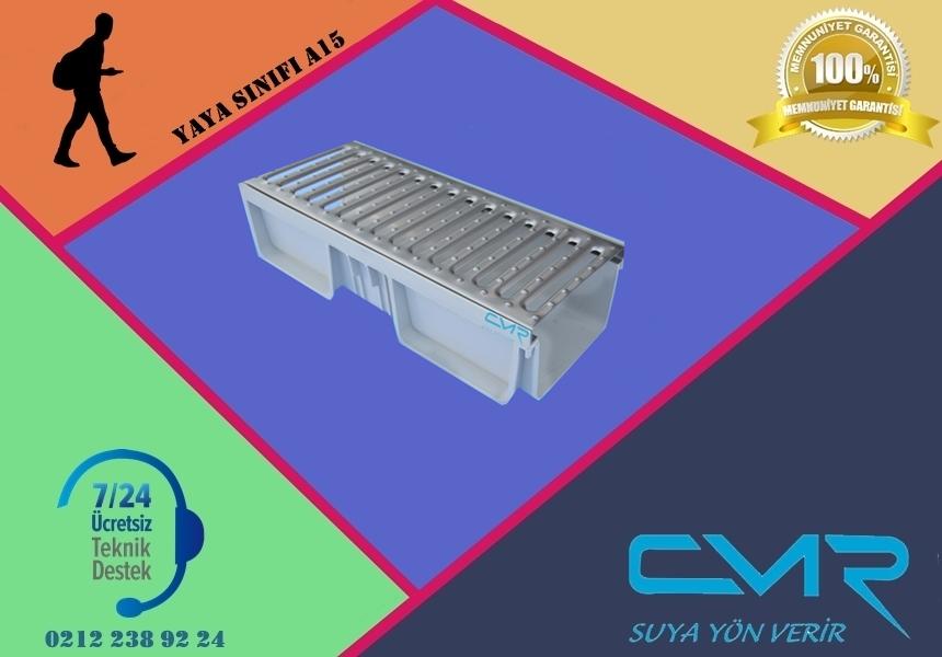 Plastik Kanal Paslanmaz Izgara CMR-PLK013