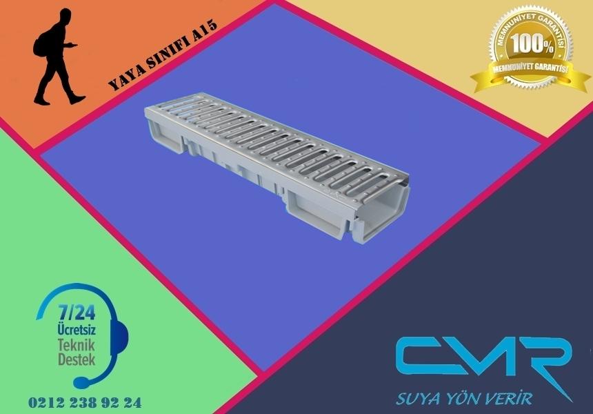 Plastik Kanal Paslanmaz Izgara CMR-PLK014