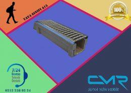 Polimer Kanal Plastik Izgara CMR-PLM17